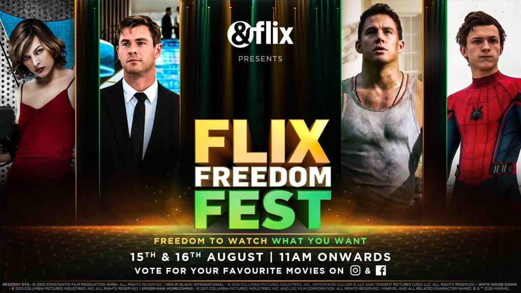 'Flix Freedom Fest' on &flix and a Special Independence Day Binge on &PrivéHD