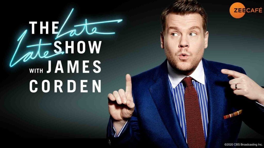 The Late Late Show Season 6 with James Corden returns on Zee Cafe