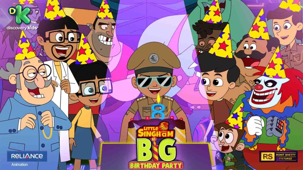 Discovery Kids celebrates 'Little Singham ki BIG birthday Party' with a series of initiatives on 15th August