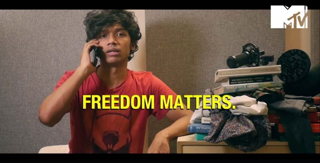 """MTV says """"Be Careful what you take for granted. Freedom Matters"""" this Independence Day"""
