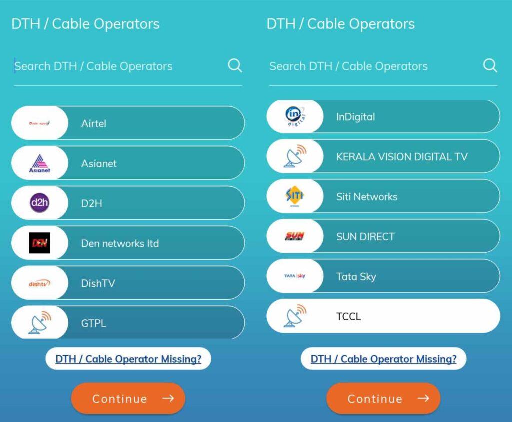 TCCL onboards TRAI Channel Selector app