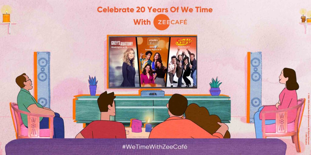 Zee Café celebrates 20 Glorious Years Of We-Time Moments