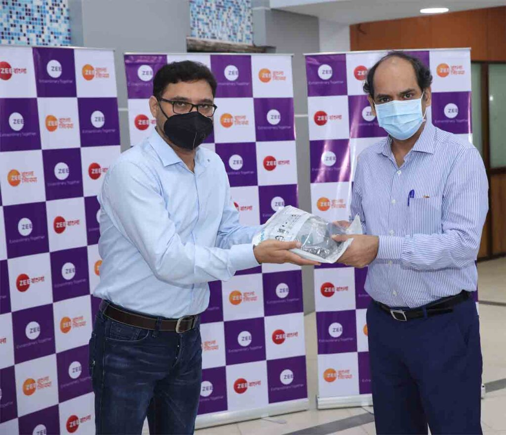 ZEE donates Critical Healthcare Equipment to West Bengal
