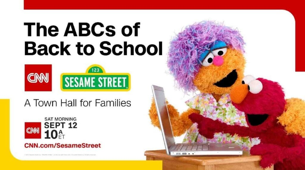 CNN and Sesame Street team up for a Town Hall to