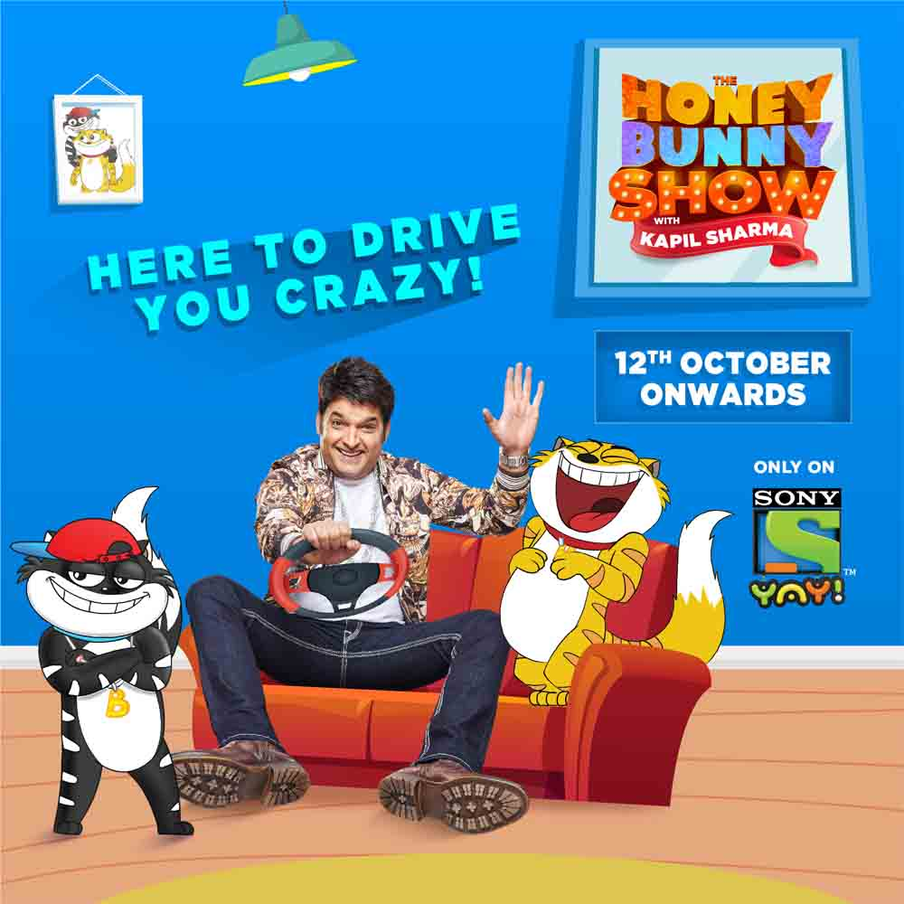 Sony YAY! launches  The Honey Bunny show with Kapil Sharma