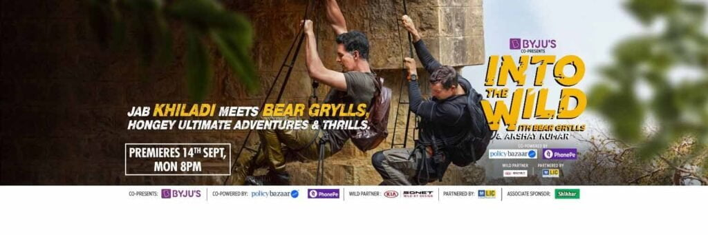 Akshay Kumar and Bear Grylls set out on a classic military-style mission in the latest episode of 'Into The Wild'