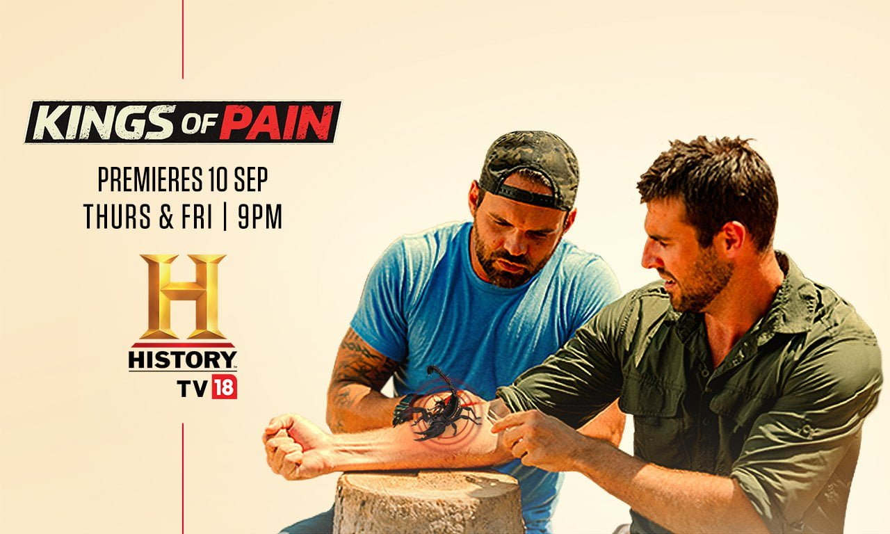History TV18's 'Kings of Pain'