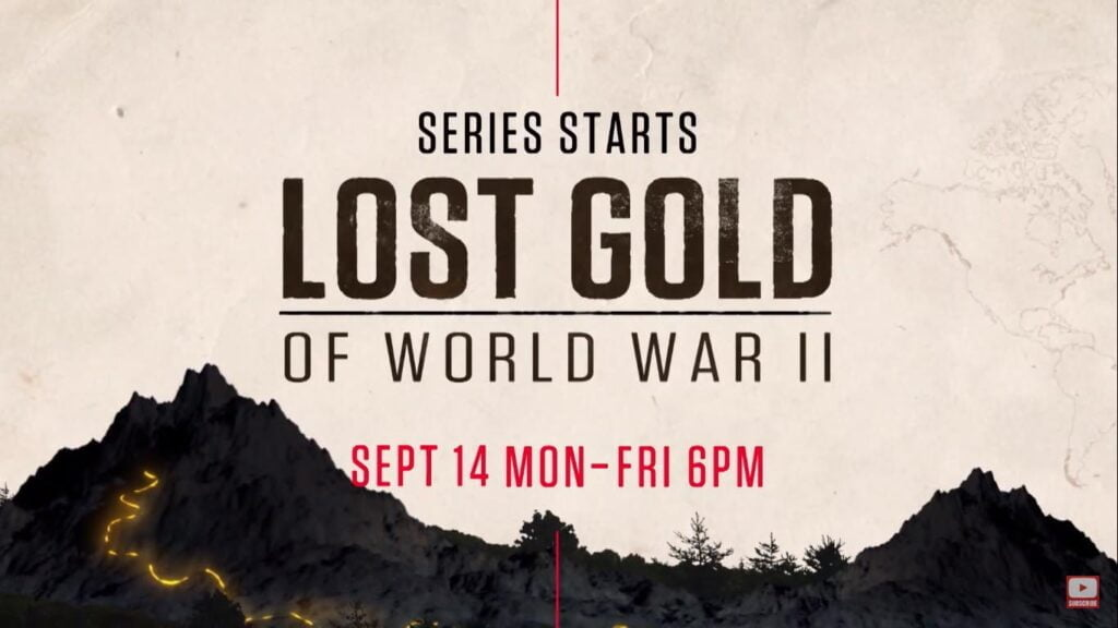 History TV18 HD to premiere 'Lost Gold of World War II' this Monday
