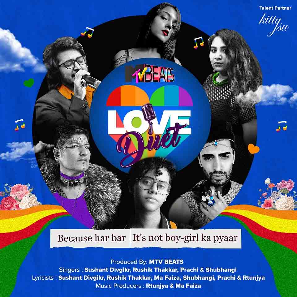MTV Beats launches 'Love Duet'- India's first love album by the LGBTQIA+ community