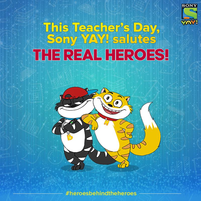 sony yay teacher's day