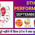DTH Performance Report September
