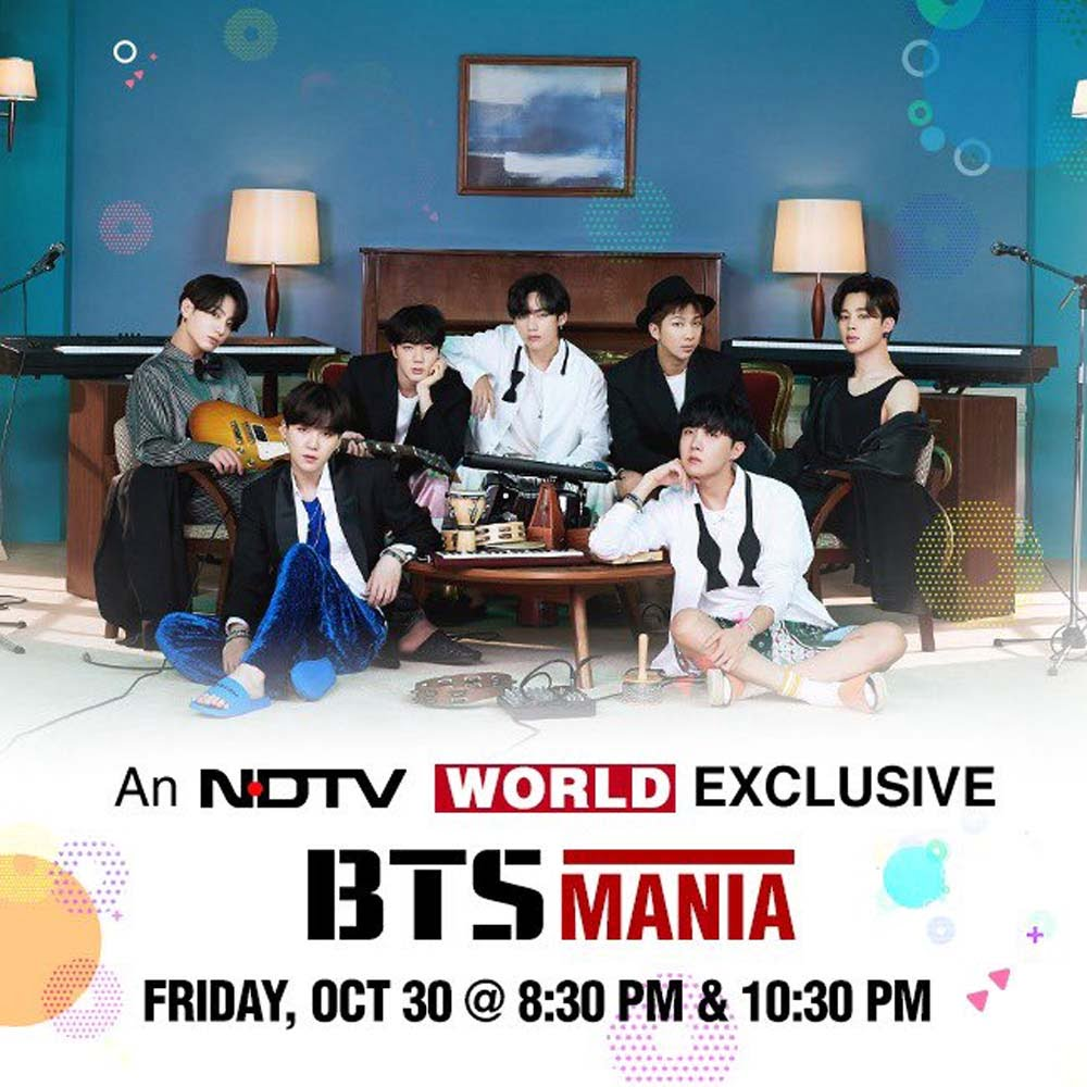 NDTV to telecast exclusive interview of BTS next week