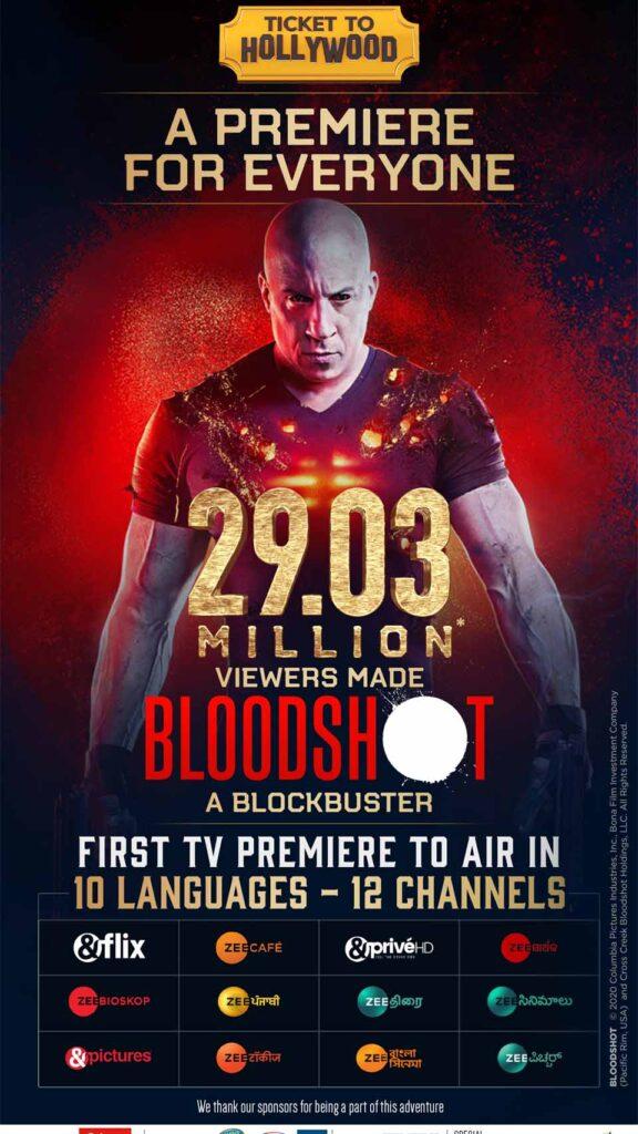 Bloodshot 29 million