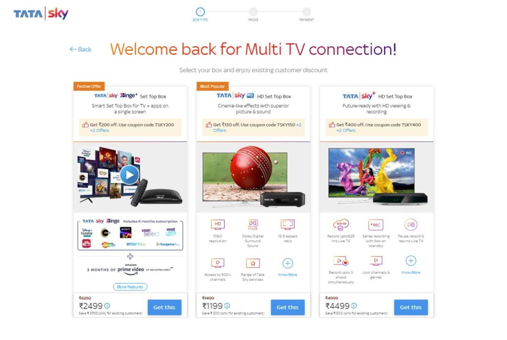 Tata Sky offering upto Rs 400 discount on new connections bought through online payment