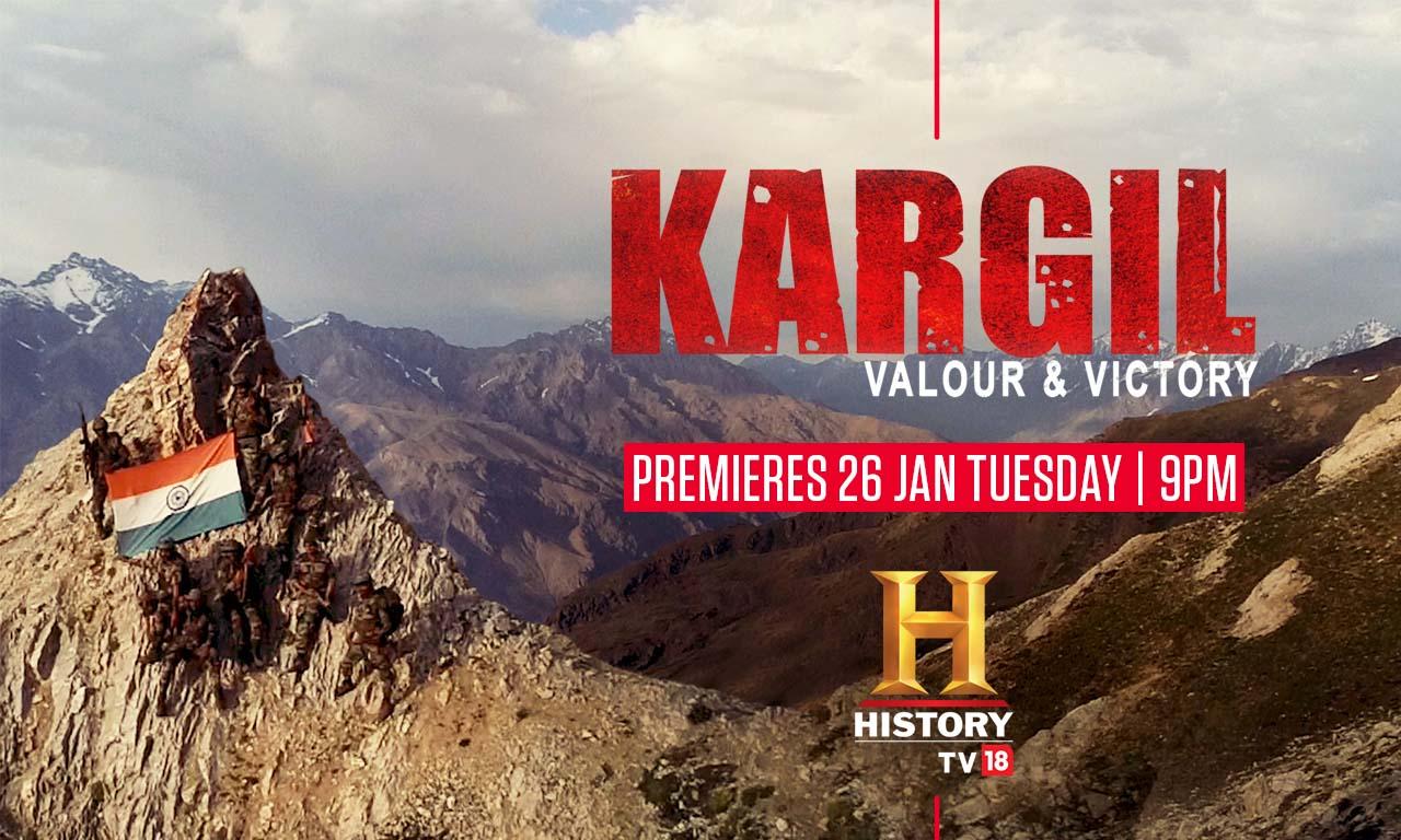 Kargil HistoryTV18