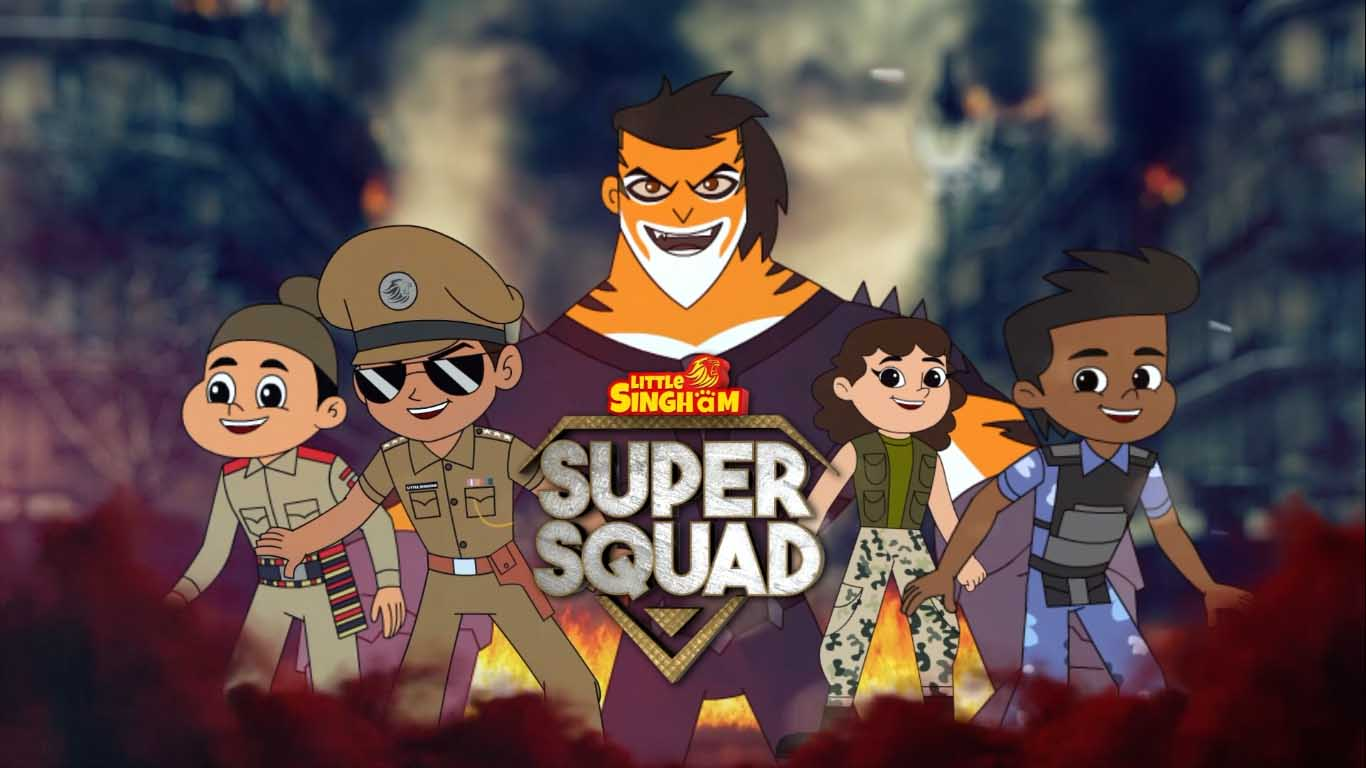 Little Singham Discovery Kids