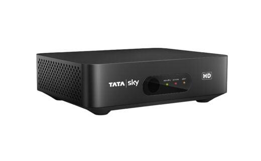 Tata Sky HD Angle STB