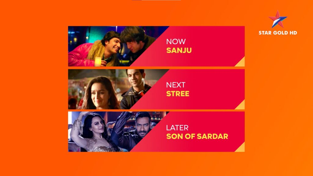 Star Gold Movie Lineup