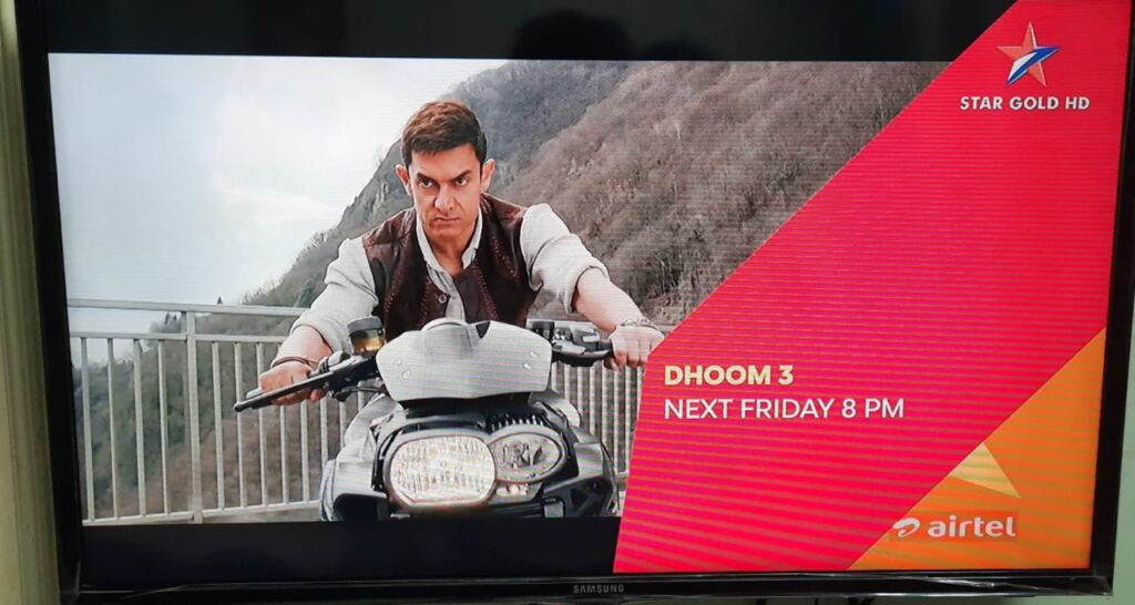 Star Gold Premiere Dhoom 3 on 2 July 2021