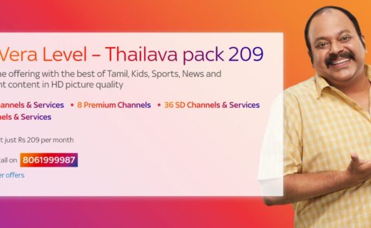 Tata Sky Thalaiva Pack