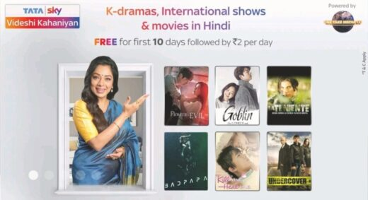 Tata Sky Videshi Kahaniyan service channel launched in partnership with One Take Media