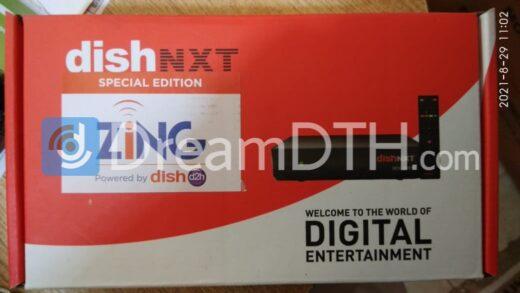 Unboxing and initial impressions of Dish D2H Zing Super FTA box
