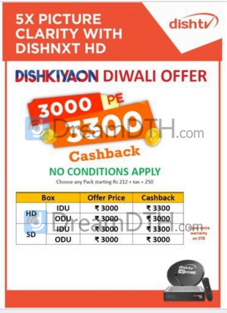 Dish TV Diwali offer